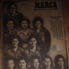 Coleccionismo deportivo: MARCA SUPLEMENTO GRÁFICO DE LOS DEPORTES, AÑO XI Nº 395, MADRID 27 JUNIO 1950, LEER. Lote 46636027