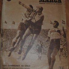 Colecionismo desportivo: MARCA SUPLEMENTO GRÁFICO DE LOS DEPORTES, AÑO XI Nº 382, MADRID 28 MARZO 1950,LEER. Lote 46636562