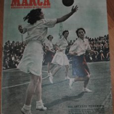 Coleccionismo deportivo: MARCA SUPLEMENTO GRÁFICO DE LOS DEPORTES, AÑO XI Nº 455, MADRID 21 AGOSTO 1951, LEER. Lote 46636661