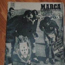 Coleccionismo deportivo: MARCA SUPLEMENTO GRÁFICO DE LOS DEPORTES, AÑO XI Nº 384, MADRID 11 ABRIL 1950, LEER. Lote 46637063