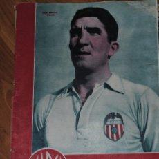 Coleccionismo deportivo: MARCA SUPLEMENTO GRÁFICO DE LOS DEPORTES, AÑO III Nº 99 MADRID 17 OCTUBRE 1944, POSTER JUSTO GASCON. Lote 46637080
