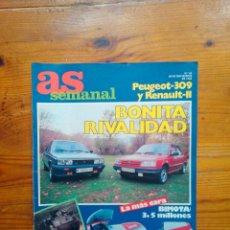 Coleccionismo deportivo: AS SEMANAL NÚMERO 44, NOVIEMBRE DE 1986. ESPECIAL MOTOR. BUEN ESTADO. Lote 46651963