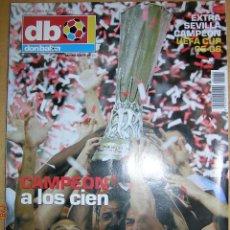 Coleccionismo deportivo: DON BALÓN EXTRA Nº 84 SEVILLA CAMPÉON UEFA CUP 05-06. Lote 46654246