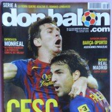 Coleccionismo deportivo: DON BALON Nº 1868 FC BARCELONA CAMPEON SUPERCOPA ESPAÑA 2011 POSTER-CESC-MONREAL-DASAEV-GRIEZMANN. Lote 46656901