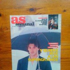 Coleccionismo deportivo: AS SEMANAL NÚMERO 107, FEBRERO DE 1988. ESPECIAL CICLISMO 88. BUEN ESTADO. Lote 46664675