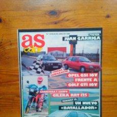 Coleccionismo deportivo: AS SEMANAL NÚMERO 126, JUNIO DE 1988. ESPECIAL MOTOR, POSTER DEDICADO JUAN GARRIGA. BUEN ESTADO. Lote 46665433