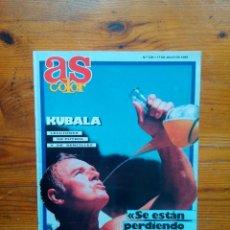 Coleccionismo deportivo: AS SEMANAL NÚMERO 129, JULIO DE 1988. POSTER NBA DETROIT PISTONS. BUEN ESTADO. Lote 46665520
