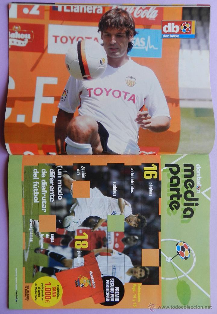 Coleccionismo deportivo: DON BALON Nº 1610 FC BARCELONA CAMPEON SUPERCOPA ESPAÑA 05/06-POSTER MORIENTES -IRURETA-GEORGE LUCAS - Foto 3 - 46672275