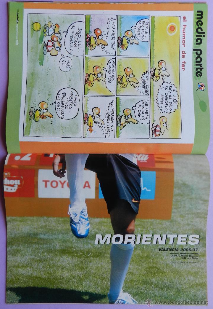 Coleccionismo deportivo: DON BALON Nº 1610 FC BARCELONA CAMPEON SUPERCOPA ESPAÑA 05/06-POSTER MORIENTES -IRURETA-GEORGE LUCAS - Foto 4 - 46672275