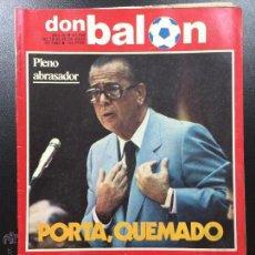 Colecionismo desportivo: REVISTA DON BALÓN NÚMERO 406- AÑO IX 19/25 JULIO 1983- PÓSTER Y REPORTAJE MÁLAGA CF 83-84, DINO ZOFF. Lote 46673541