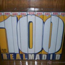 Coleccionismo deportivo: 100 AÑOS DE HISTORIA VIVA DEL REAL MADRID. MARCA. 10 CINTAS VHS. PACK PRECINTADO Y NUEVO A ESTRENAR!. Lote 46737498
