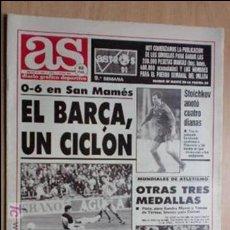 Coleccionismo deportivo: AS-1991-Nº7407-EL BARSA UN CICLON-. Lote 21125669