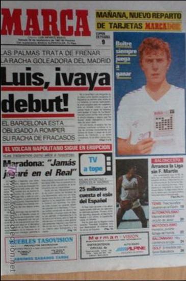 MARCA-1987-Nº14221-32 PAGINAS-BUTRAGUEÑO-REXACH-ZUBIZARRETA-SARABIA-MARTIN VAZQUEZ-MARINA-MARADONA (Coleccionismo Deportivo - Revistas y Periódicos - Marca)