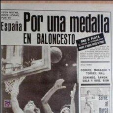 Coleccionismo deportivo: AS-1984-Nº5233-POR UNA MEDALLA-. Lote 21126487