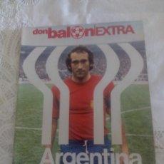 Coleccionismo deportivo: DON BALON EXTRA MUNDIAL ARGENTINA 78. Lote 47008761