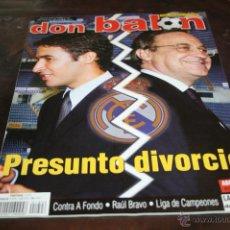 Colecionismo desportivo: REVISTA FÚTBOL DON BALÓN Nº 1406 POSTER ASSUNÇAO DEL BETIS 02-03. Lote 47109412