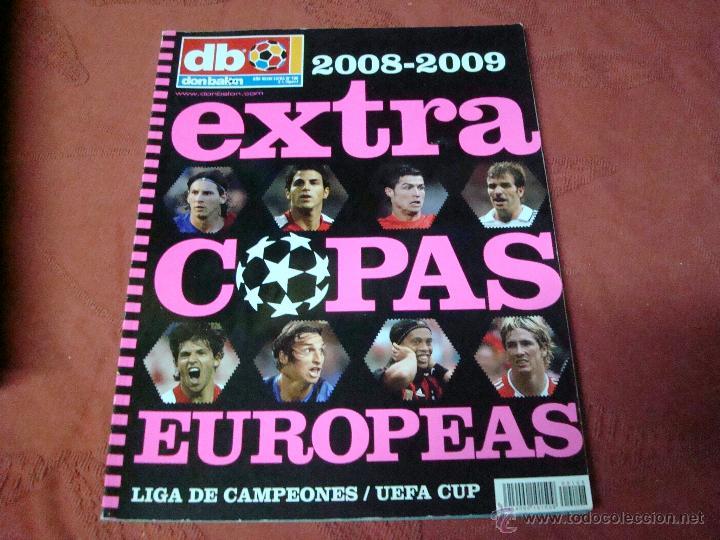 EXTRA COPAS EUROPEAS 2008 DON BALON (Coleccionismo Deportivo - Revistas y Periódicos - Don Balón)