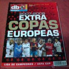 Coleccionismo deportivo: EXTRA COPAS EUROPEAS 2007 DON BALON. Lote 117016234