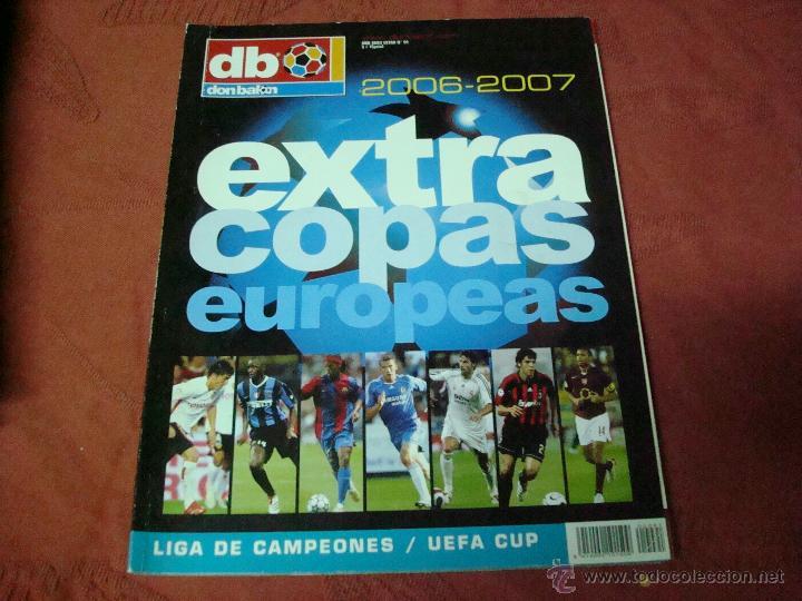 EXTRA COPAS EUROPEAS 2006 DON BALON (Coleccionismo Deportivo - Revistas y Periódicos - Don Balón)