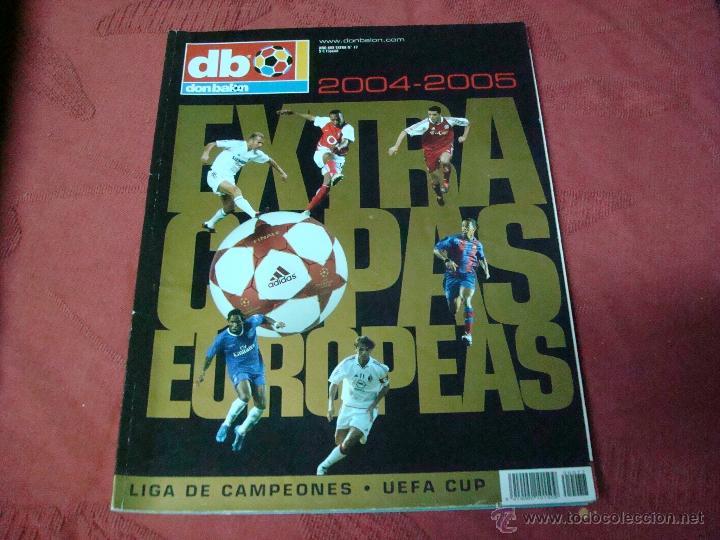 EXTRA COPAS EUROPEAS 2004 DON BALON (Coleccionismo Deportivo - Revistas y Periódicos - Don Balón)
