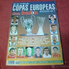 Coleccionismo deportivo: EXTRA COPAS EUROPEAS 2000 DON BALON. Lote 47109651