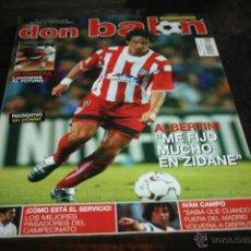 Coleccionismo deportivo: REVISTA FÚTBOL DON BALÓN Nº 1422 POSTER RECREATIVO 02-03. Lote 47109956