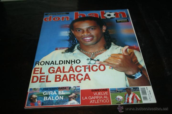 REVISTA FÚTBOL DON BALÓN Nº 1449 POSTER ANDERSON VILLARREAL 03-04 (Coleccionismo Deportivo - Revistas y Periódicos - Don Balón)