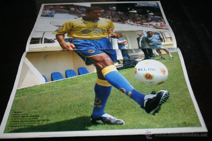 Coleccionismo deportivo: REVISTA FÚTBOL DON BALÓN Nº 1449 POSTER ANDERSON VILLARREAL 03-04 - Foto 2 - 47111632