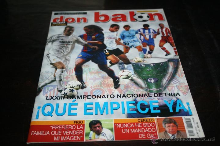 REVISTA FÚTBOL DON BALÓN Nº 1454 POSTER OLIVEIRA VALENCIA 03-04 (Coleccionismo Deportivo - Revistas y Periódicos - Don Balón)