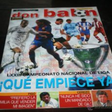Coleccionismo deportivo: REVISTA FÚTBOL DON BALÓN Nº 1454 POSTER OLIVEIRA VALENCIA 03-04. Lote 47111722