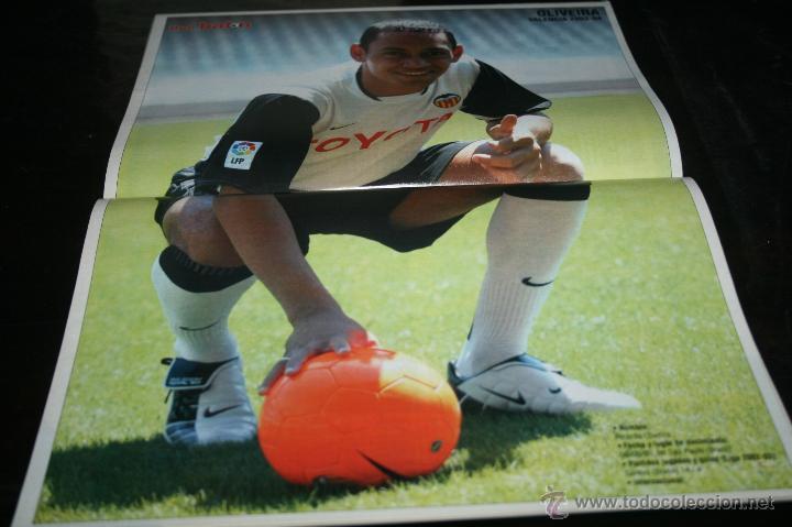 Coleccionismo deportivo: REVISTA FÚTBOL DON BALÓN Nº 1454 POSTER OLIVEIRA VALENCIA 03-04 - Foto 2 - 47111722