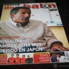 Coleccionismo deportivo: REVISTA FÚTBOL DON BALÓN Nº 1456 POSTER MILOSEVIC CELTA 03-04. Lote 47111751
