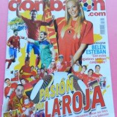 Coleccionismo deportivo: DON BALON Nº 1806 MUNDIAL SUDAFRICA 2010-POSTER DAVID VILLA 10/11 FC BARCELONA-RANKING PIATTI. Lote 47160487