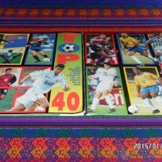 Collectionnisme sportif: DON BALÓN TOP 40 GOLEADORES Y SUPLEMENTO 40 CRACKS DE LA LIGA 1997 1998. BUEN ESTADO.. Lote 47327063