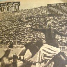 Coleccionismo deportivo: DIARIOS VIDA DEPORTIVA 1954-55 ENCUADERNADOS DEL Nº 440 AL 480. Lote 47398838