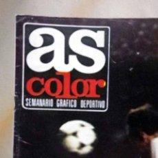 Coleccionismo deportivo: REVISTA, SEMANARIO GRAFICO DEPORTIVO, AS COLOR, Nº 442, 1979, POSTER DEL SPORTING DE GIJON. Lote 47414244