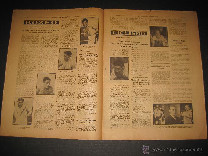Coleccionismo deportivo: EQUIPO TITULAR DEL FUTBOL CATALAN- ALCANTARA , SAMI - JORNADA DEPORTIVA NUM. 80-NOV. 1922-(CD-1369) - Foto 4 - 47437516