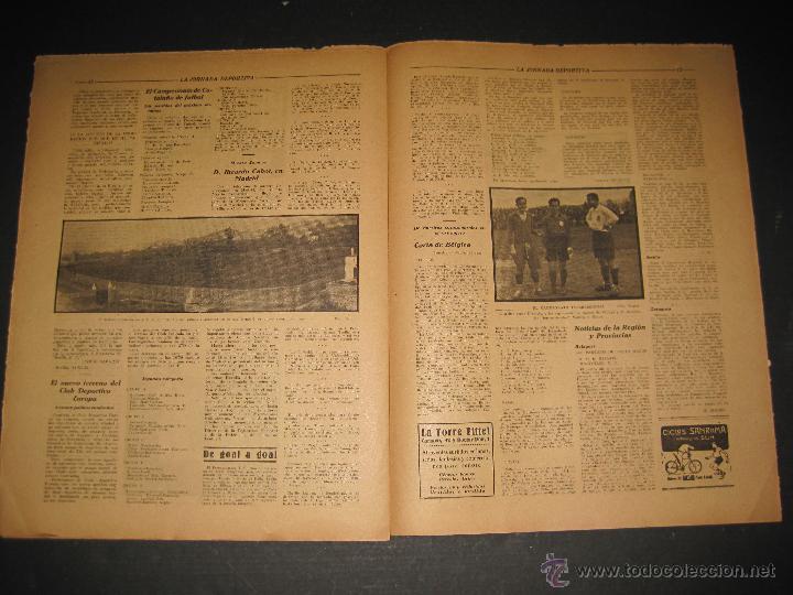 Coleccionismo deportivo: EQUIPO TITULAR DEL FUTBOL CATALAN- ALCANTARA , SAMI - JORNADA DEPORTIVA NUM. 80-NOV. 1922-(CD-1369) - Foto 7 - 47437516