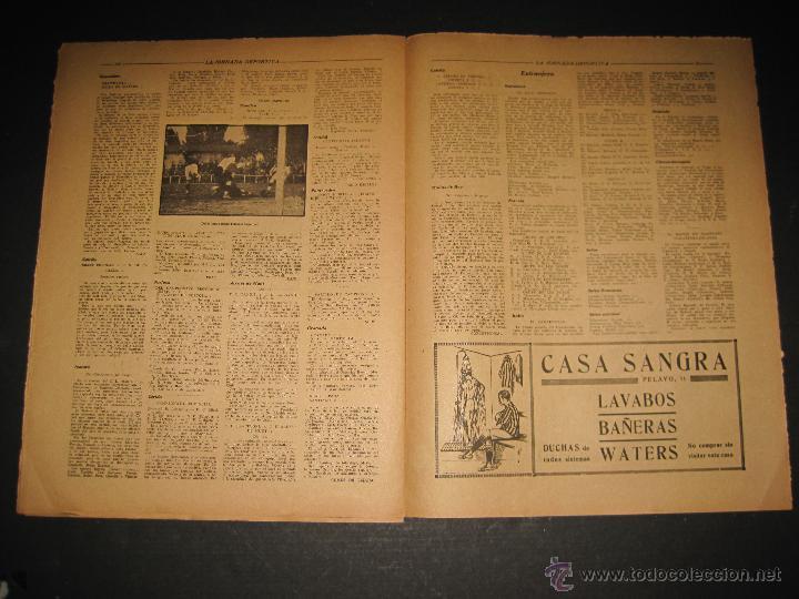 Coleccionismo deportivo: EQUIPO TITULAR DEL FUTBOL CATALAN- ALCANTARA , SAMI - JORNADA DEPORTIVA NUM. 80-NOV. 1922-(CD-1369) - Foto 8 - 47437516