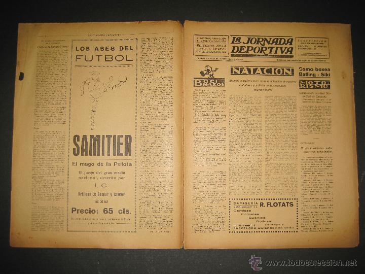 Coleccionismo deportivo: BOXEO -MATCH CARPENTIER - SIKI - JORNADA DEPORTIVA NUM. 65- SEP . 1922-(CD-1370) - Foto 2 - 47437563