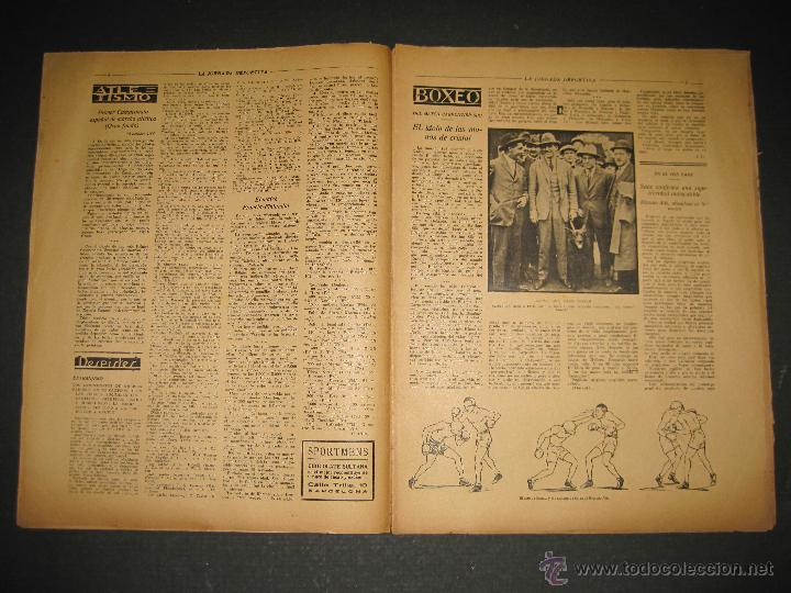Coleccionismo deportivo: BOXEO -MATCH CARPENTIER - SIKI - JORNADA DEPORTIVA NUM. 65- SEP . 1922-(CD-1370) - Foto 3 - 47437563