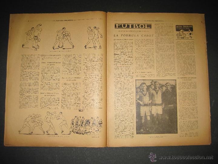 Coleccionismo deportivo: BOXEO -MATCH CARPENTIER - SIKI - JORNADA DEPORTIVA NUM. 65- SEP . 1922-(CD-1370) - Foto 4 - 47437563