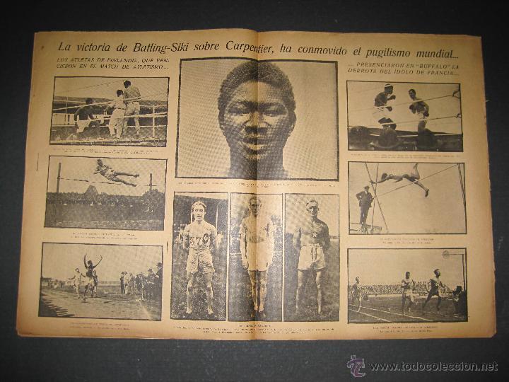 Coleccionismo deportivo: BOXEO -MATCH CARPENTIER - SIKI - JORNADA DEPORTIVA NUM. 65- SEP . 1922-(CD-1370) - Foto 5 - 47437563