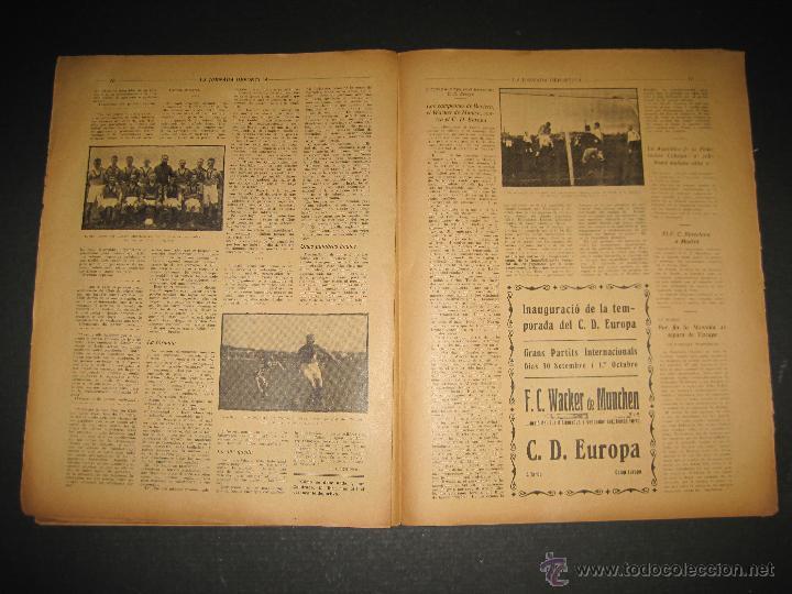 Coleccionismo deportivo: BOXEO -MATCH CARPENTIER - SIKI - JORNADA DEPORTIVA NUM. 65- SEP . 1922-(CD-1370) - Foto 6 - 47437563