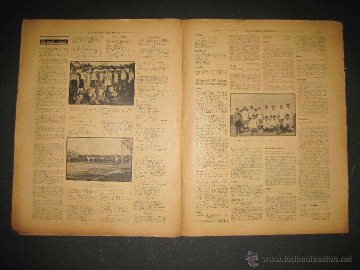 Coleccionismo deportivo: BOXEO -MATCH CARPENTIER - SIKI - JORNADA DEPORTIVA NUM. 65- SEP . 1922-(CD-1370) - Foto 7 - 47437563