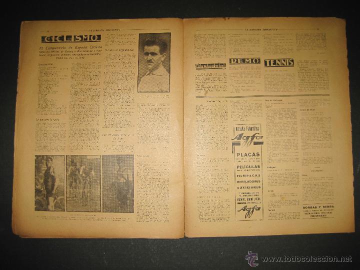 Coleccionismo deportivo: BOXEO -MATCH CARPENTIER - SIKI - JORNADA DEPORTIVA NUM. 65- SEP . 1922-(CD-1370) - Foto 8 - 47437563
