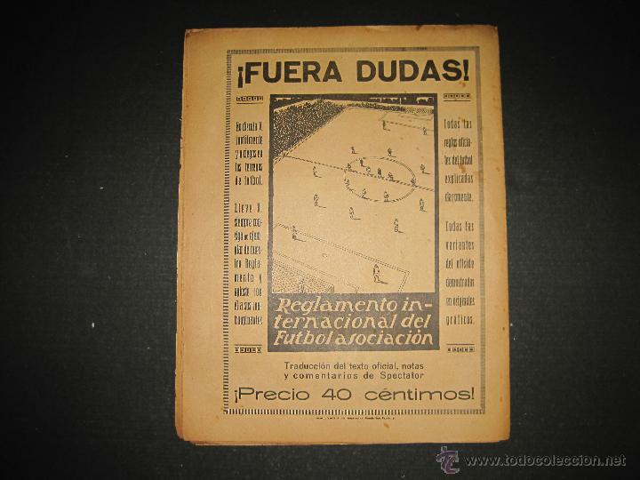 Coleccionismo deportivo: BOXEO -MATCH CARPENTIER - SIKI - JORNADA DEPORTIVA NUM. 65- SEP . 1922-(CD-1370) - Foto 9 - 47437563