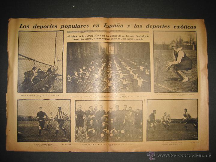 Coleccionismo deportivo: PARTIDO FUTBOL LIGA BERLIN - JORNADA DEPORTIVA NUM. 87- DICIEMBRE . 1922-(CD-1371) - Foto 3 - 47437591