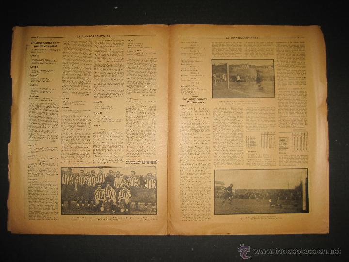 Coleccionismo deportivo: PARTIDO FUTBOL LIGA BERLIN - JORNADA DEPORTIVA NUM. 87- DICIEMBRE . 1922-(CD-1371) - Foto 4 - 47437591