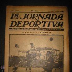 Coleccionismo deportivo: PARTIDO FUTBOL U.S. SANS -F.C. BARCELONA - JORNADA DEPORTIVA NUM. 81- NOVIEMBRE 1922-(CD-1372). Lote 47437642